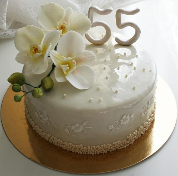 торт орхидея фото