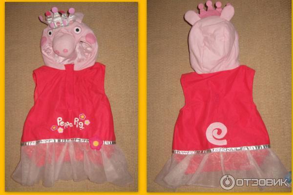 Карнавальный костюм свинка пеппа своими руками