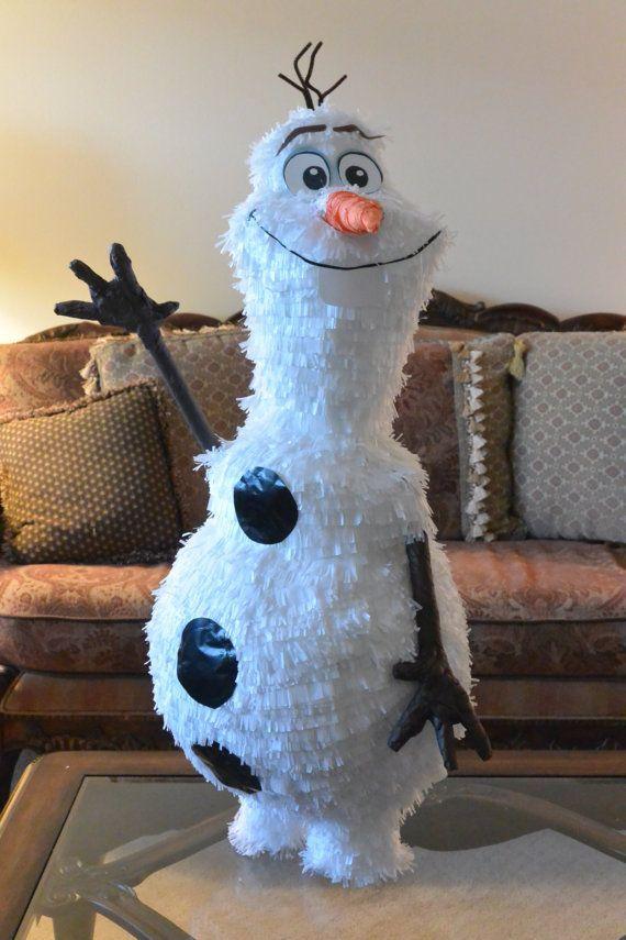 Пиньята снеговик своими руками