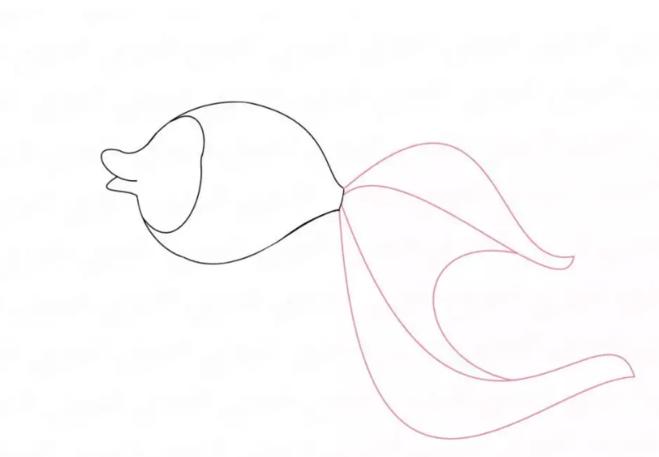 Нарисовать по клеточкам рыбку