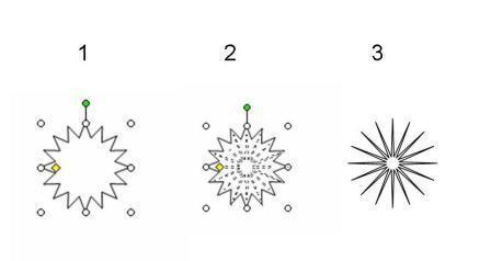 как нарисовать зрачок