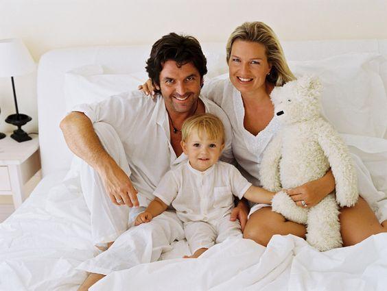 Томас Андерс и семья