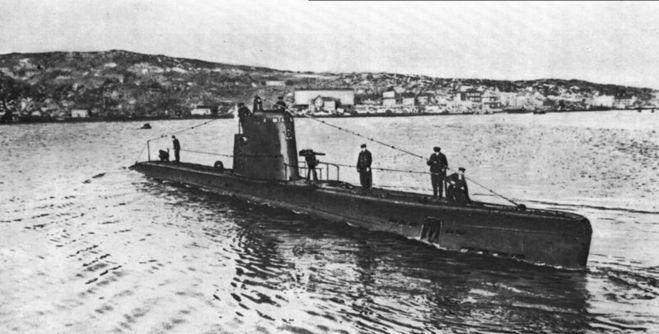 протаранил советскую подводную лодку