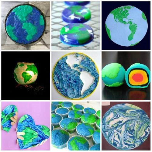 Поделка на тему День Земли своими руками