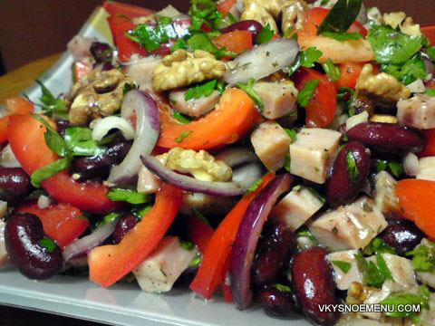 Салат перец болгарский рецепты 13