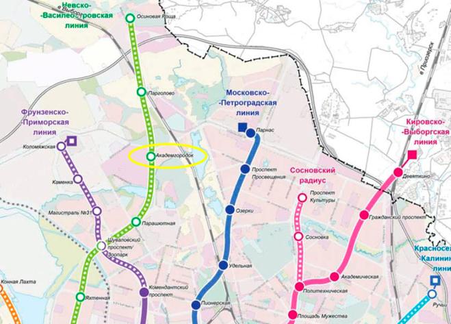 план развития метро в