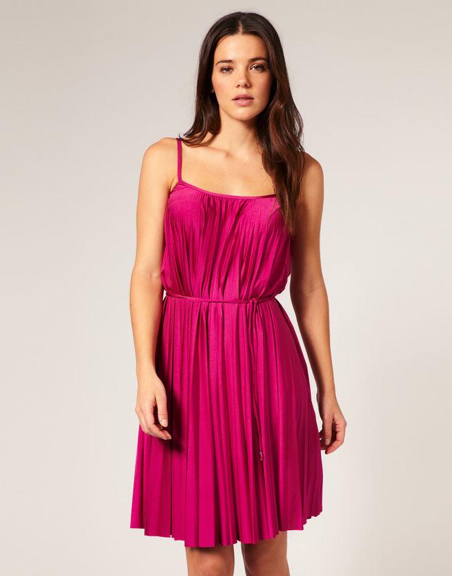 Плиссированное платье как сшить