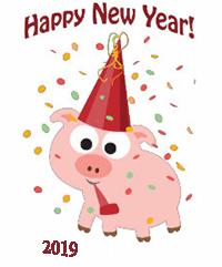 Смешное, веселое поздравление На Новый год 2019 в прозе