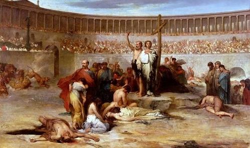 ГОНЕНИЯ НА ХРИСТИАН В РИМСКОЙ ИМПЕРИИ