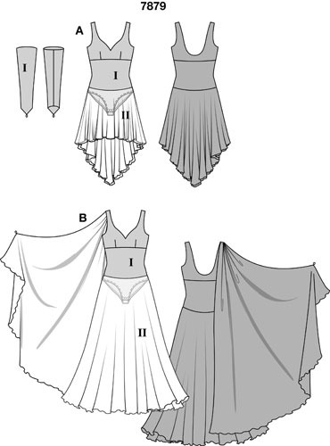 Выкройки бальных платьев для девочек