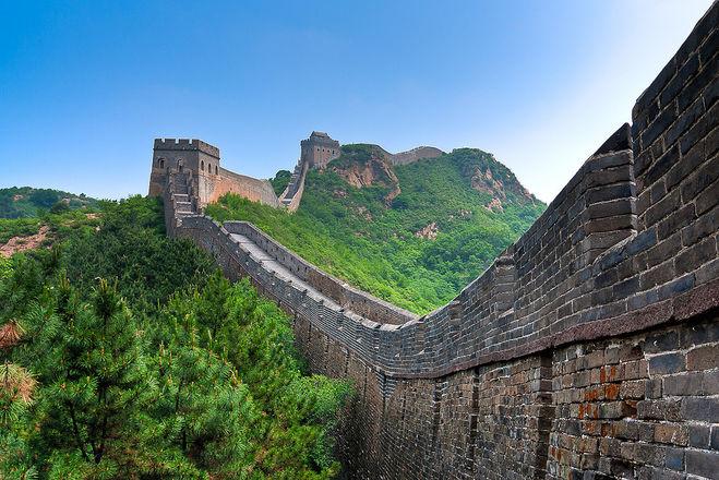 Великая китайская стена, как она была построена, сколько кирпичей в китайской стене