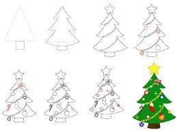 как нарисовать елочку, как нарисовать елку поэтапно, как нарисовать елку ребенку