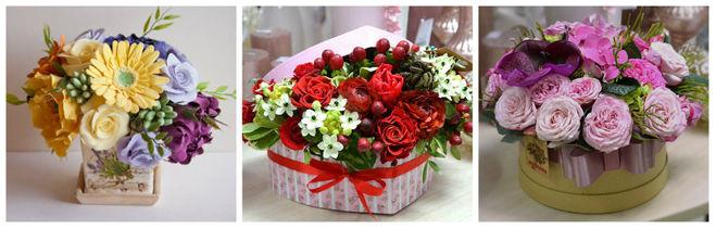 Коробки своими руками для роз