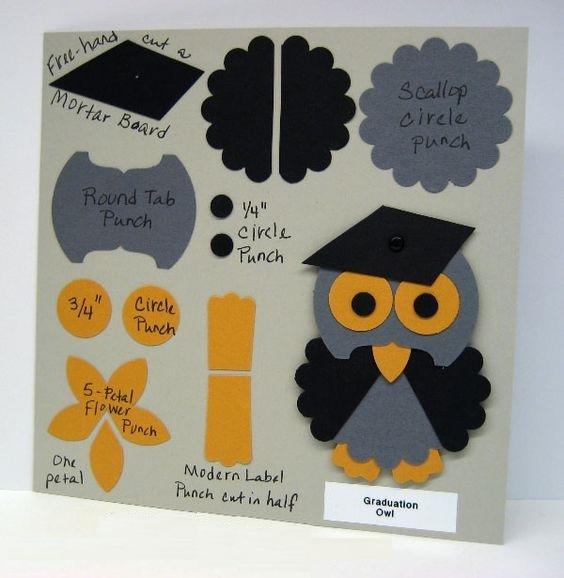открытка с совой