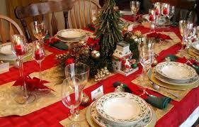 украшение рождественского стола
