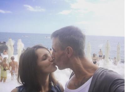 Алексей Панин и Ольга