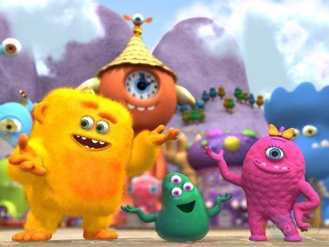 как зовут Корпорация забавных монстров  Trouble at the Monster Daycare