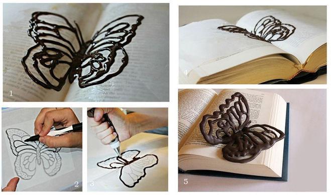 шоколадная бабочка мастер-класс