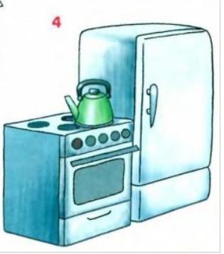 Как нарисовать плиту электрическую