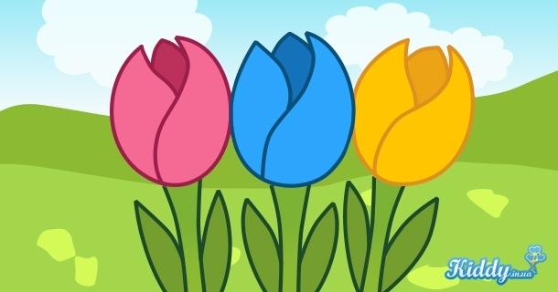Цветы открытка тюльпаны