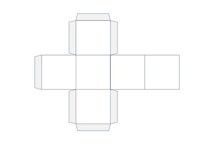 Геометрическая фигура куб своими руками 85