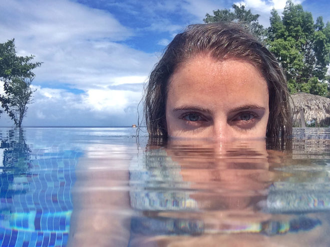 Как сделать красивое у воды