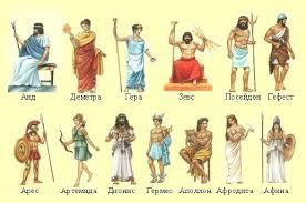 Мифы о древнегреческиех богах