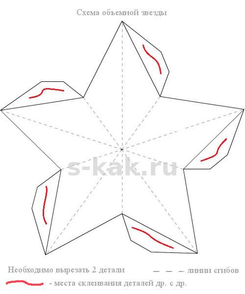 Как сделать звезду к 9 мая своими