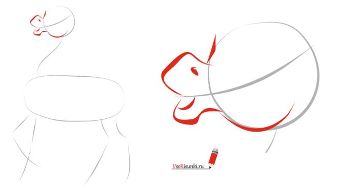 Как нарисовать сказку конёк горбунок карандашом поэтапно