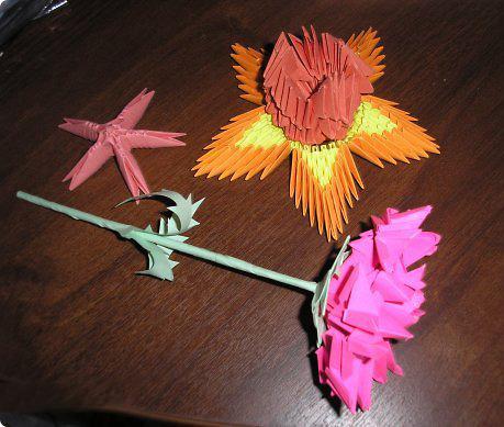 Оригами из бумаги попроще 5 лет