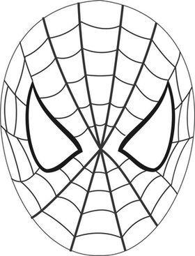 Маска Человека паука своими руками: из ткани, из бумаги 93