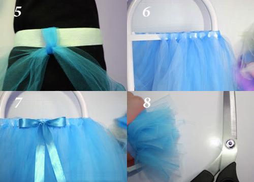 Капроновые ленты для юбки