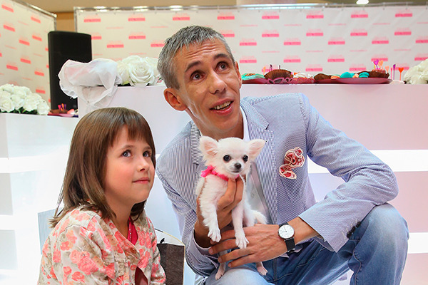 панин с собакой