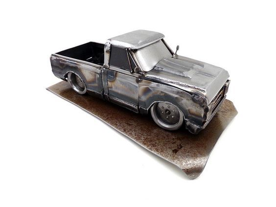 Машинка из металла своими руками 24