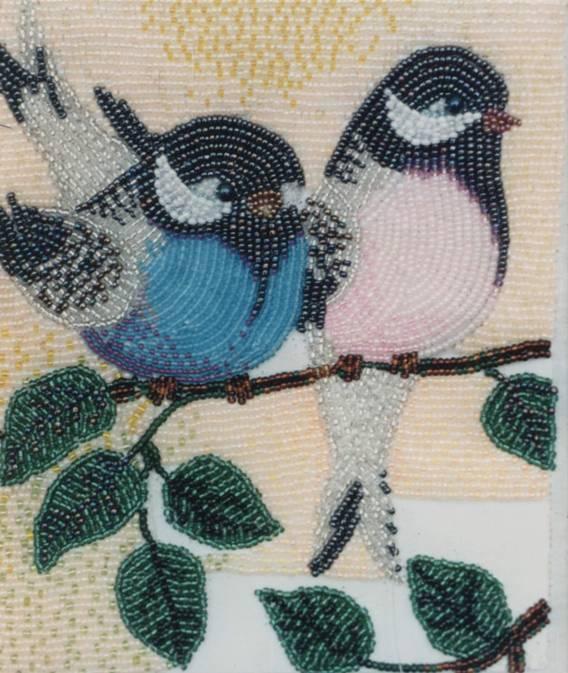 Картина на клею из бисера мастер класс с пошаговым