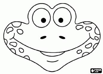 Сделать маску лягушки своими руками