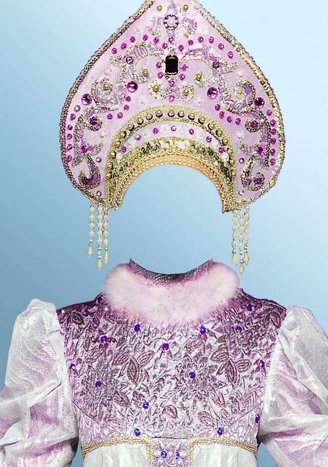 Кокошник для русского народного костюма своими руками фото 42