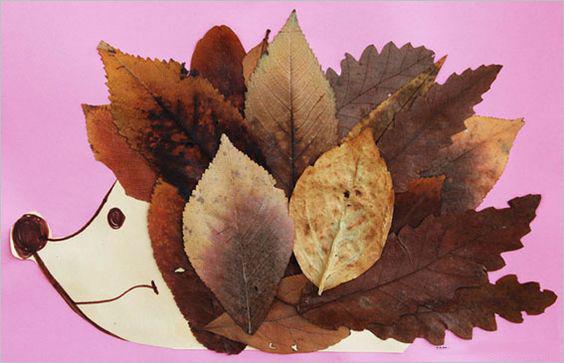 Самые простые поделки тема осень