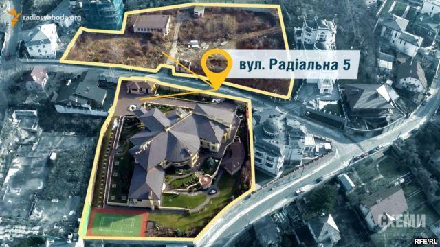 карта собственности Порошенко в Киеве