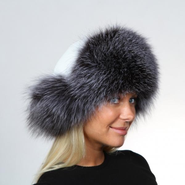 Женские зимние шапки ушанки