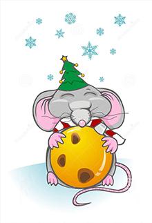 поздравительные стихи на Новый год 2020 Мыши (Крысы)