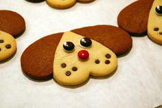 собака из печенья
