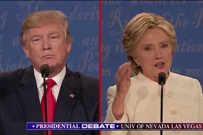 дебаты Трамп - Клинтон