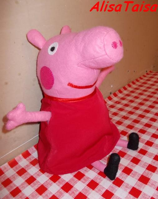 сделать поделку свинку