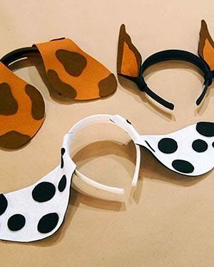 как быстро сделать костю собаки на новый год детский праздник