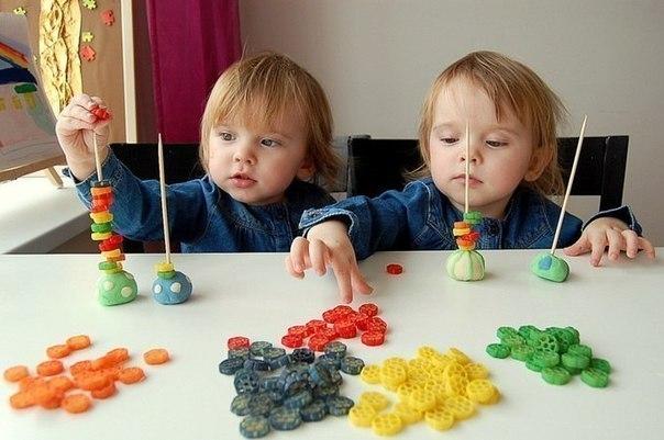 Поделки с детками до 2 лет