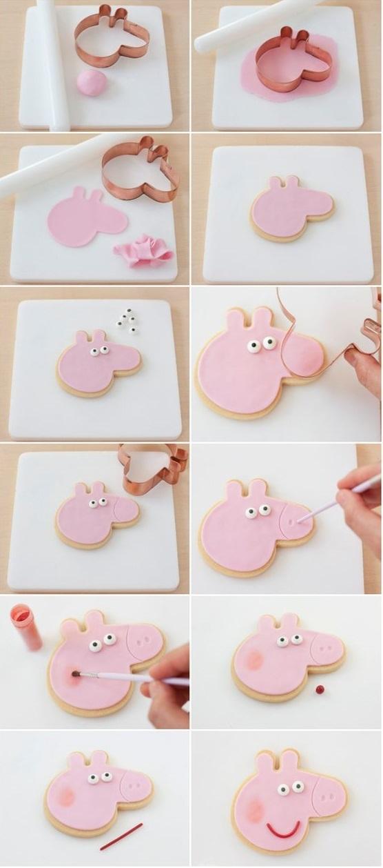 Как сделать торт свинка пеппа своими руками 95