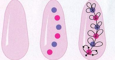 Дизайн маникюра шеллак  70 фото красивых ногтей френч