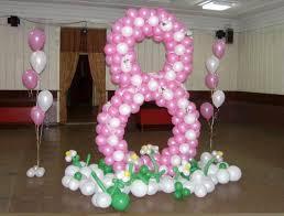 как сделать цифру 8 на праздник 8 марта