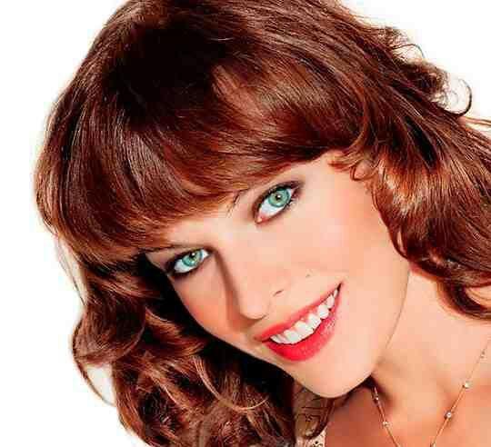 Какой цвет волос подойдет для зеленых глаз и светлой кожи